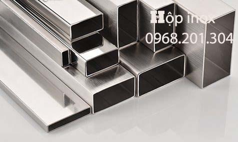 Hộp inox 20x40 giá rẻ nhất, cắt lẻ ở Bình Dương, Bình Phước【Hinox2040】